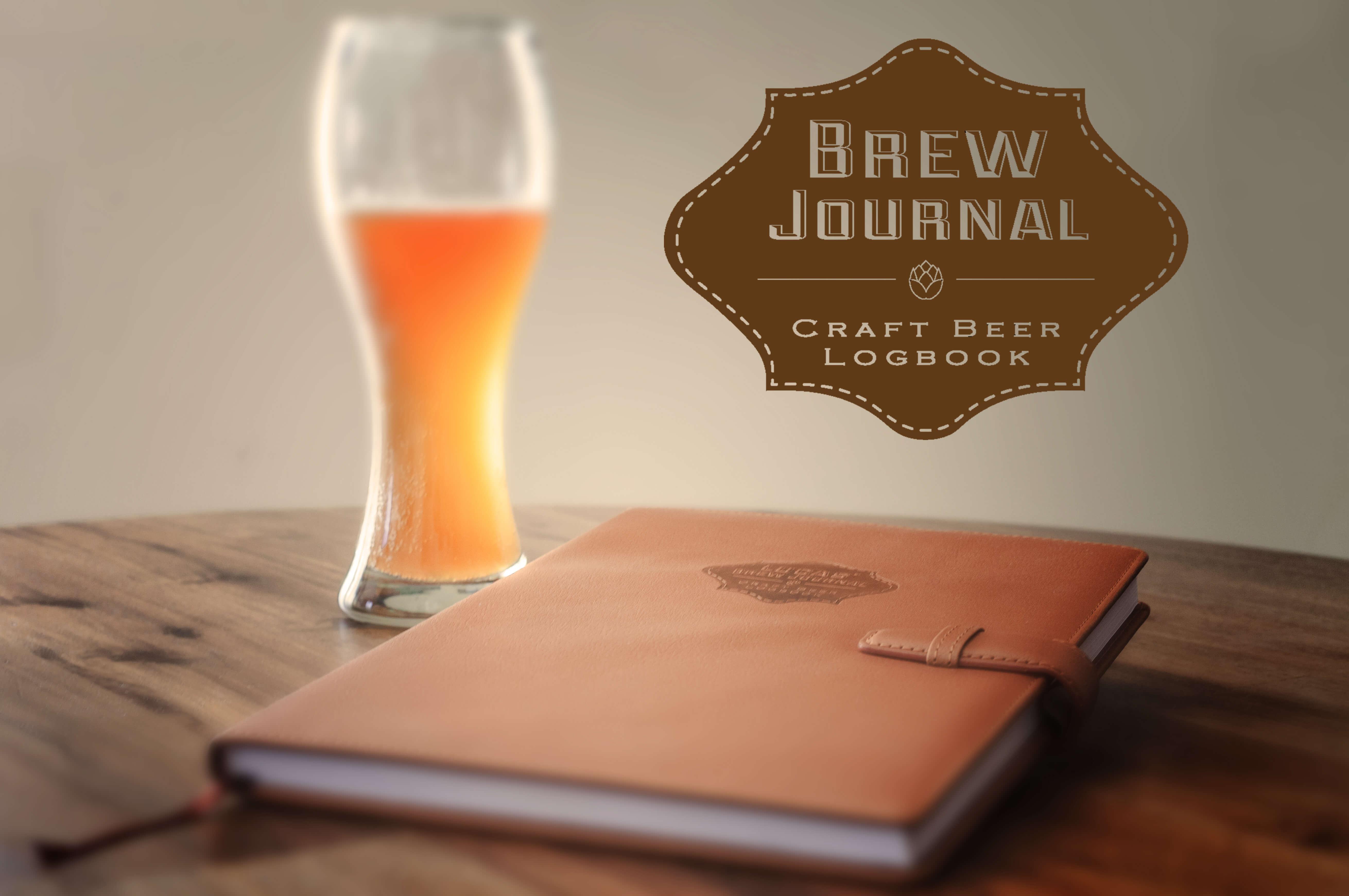 Brew journal craft beer recipes journal for Take craft beer back
