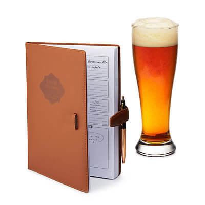 Brew Journal Craft Beer Logbook